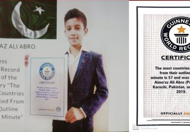 A Pakistani boy is determined to win Nobel prize