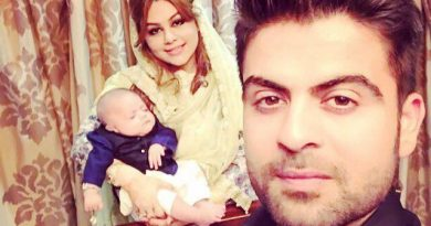 Batsman Ahmad Shahzad has blessed with A Cute Baby Girl in his Family
